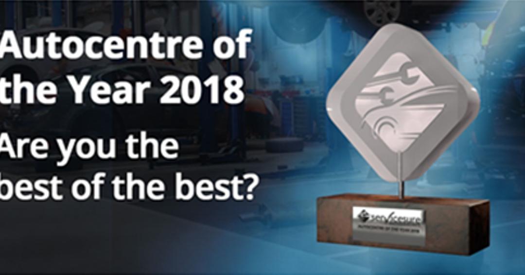 Servicesure announces final shortlist the 'Autocentre of the Year 2018'