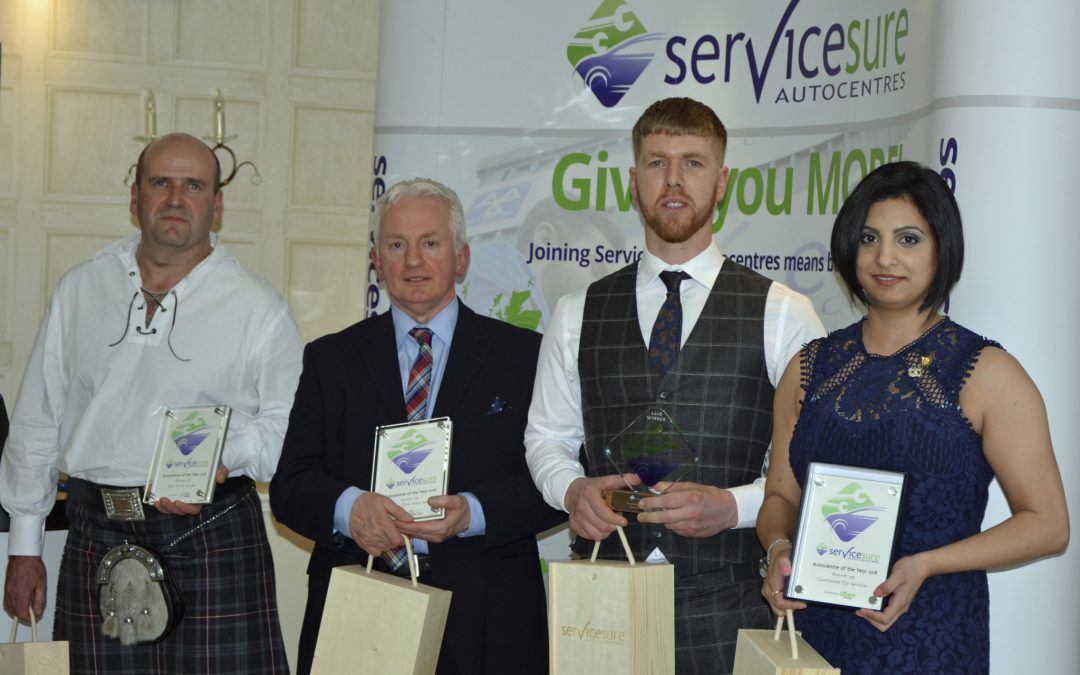 Servicesure announces first ever Autocentre of the Year during highly anticipated evening ceremony