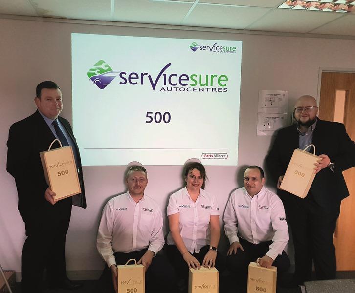 Servicesure network hits 500 members