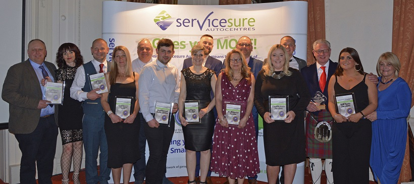 M M Auto Services Ltd named Servicesure's 'Autocentre of the Year' at eagerly anticipated evening ceremony