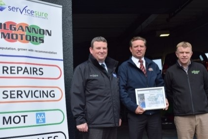 Slicker Recycling and Servicesure Autocentres sign a two-year partnership to help reduce carbon footprint of independent garage members