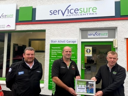 From Purchase, to Use, to Recycling: Blair Atholl Garage and Other Oilsure Members Secure Peace of Mind in the Management of Their Lubricating Oil